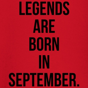 Legends are born in september T-shirts - T-shirt
