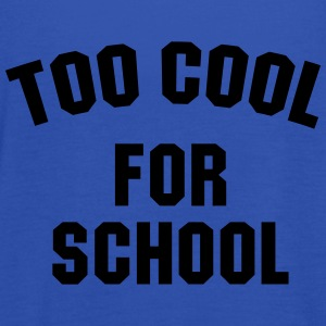 Too cool for school T-shirts - Vrouwen tank top van Bella