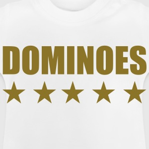 Domino / spel / spelare / pussel T-shirts - Baby-T-shirt