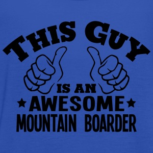 this guy is an awesome mountain boarder - Women's Tank Top by Bella