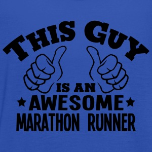 this guy is an awesome marathon runner - Women's Tank Top by Bella