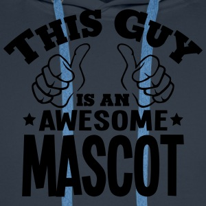 this guy is an awesome mascot - Men's Premium Hoodie