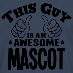 this guy is an awesome mascot - Men's Premium Longsleeve Shirt