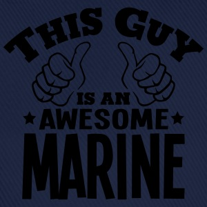 this guy is an awesome marine - Baseball Cap