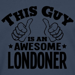 this guy is an awesome londoner - Men's Premium Longsleeve Shirt
