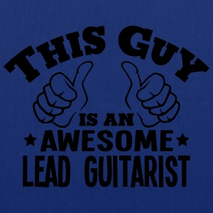 this guy is an awesome lead guitarist - Tote Bag