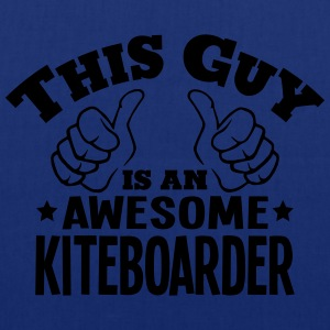 this guy is an awesome kiteboarder - Tote Bag