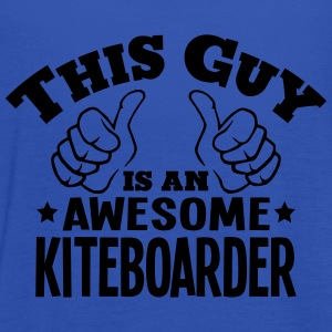 this guy is an awesome kiteboarder - Women's Tank Top by Bella