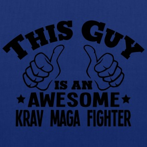 this guy is an awesome krav maga fighter - Tote Bag