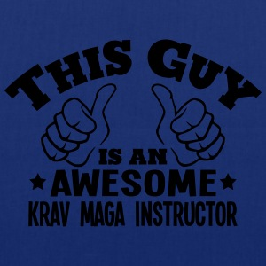 this guy is an awesome krav maga instruc - Tote Bag