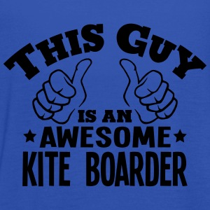 this guy is an awesome kite boarder - Women's Tank Top by Bella