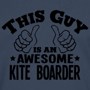 this guy is an awesome kite boarder - Men's Premium Longsleeve Shirt
