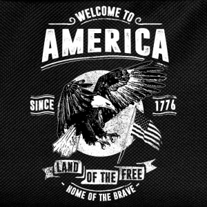 WELCOME TO AMERICA #1 T-Shirts - Kinder Rucksack