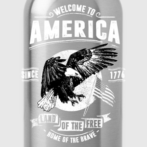 WELCOME TO AMERICA #1 T-Shirts - Trinkflasche