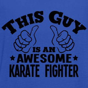 this guy is an awesome karate fighter - Women's Tank Top by Bella