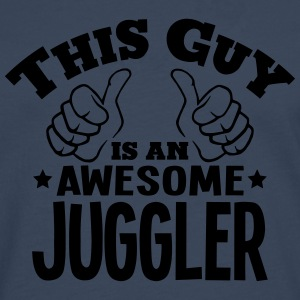 this guy is an awesome juggler - Men's Premium Longsleeve Shirt