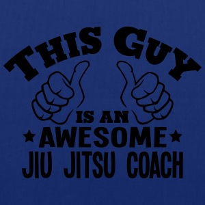 this guy is an awesome jiu jitsu coach - Tote Bag