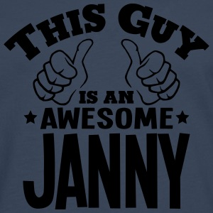 this guy is an awesome janny - Men's Premium Longsleeve Shirt