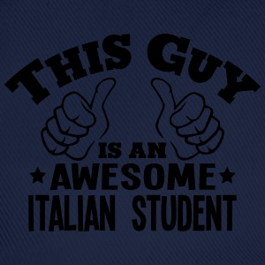 this guy is an awesome italian student - Baseball Cap