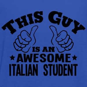 this guy is an awesome italian student - Women's Tank Top by Bella
