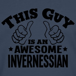 this guy is an awesome invernessian - Men's Premium Longsleeve Shirt