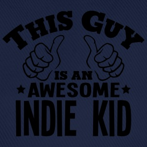 this guy is an awesome indie kid - Baseball Cap