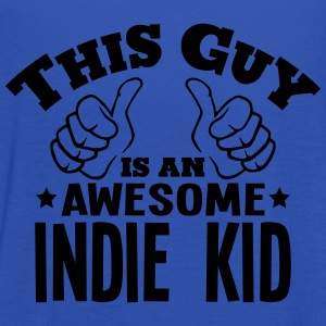 this guy is an awesome indie kid - Women's Tank Top by Bella