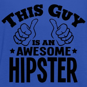 this guy is an awesome hipster - Women's Tank Top by Bella