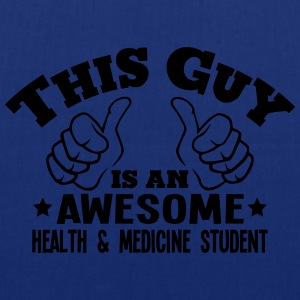 this guy is an awesome health  medicine  - Tote Bag