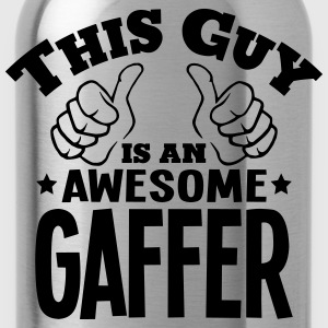 this guy is an awesome gaffer - Water Bottle