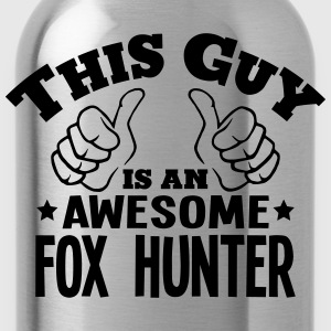 this guy is an awesome fox hunter - Water Bottle