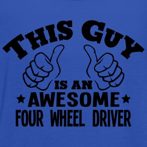 this guy is an awesome four wheel driver - Women's Tank Top by Bella