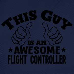 this guy is an awesome flight controller - Baseball Cap