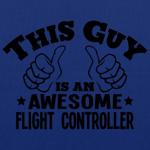 this guy is an awesome flight controller - Tote Bag