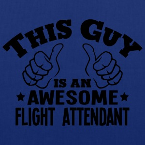 this guy is an awesome flight attendant - Tote Bag