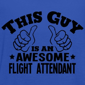this guy is an awesome flight attendant - Women's Tank Top by Bella