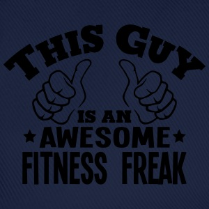 this guy is an awesome fitness freak - Baseball Cap