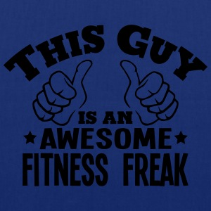 this guy is an awesome fitness freak - Tote Bag