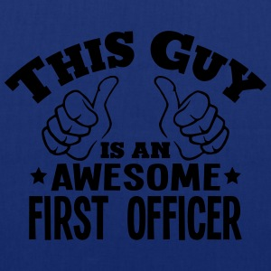 this guy is an awesome first officer - Tote Bag