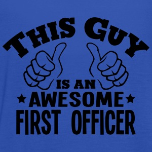 this guy is an awesome first officer - Women's Tank Top by Bella