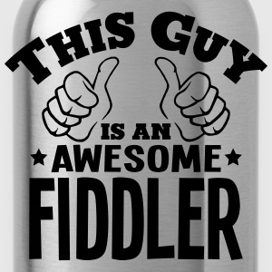 this guy is an awesome fiddler - Water Bottle