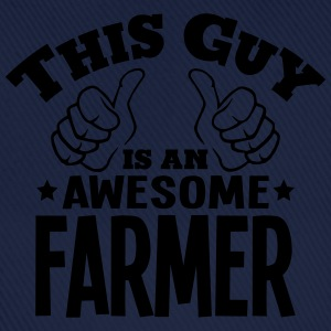this guy is an awesome farmer - Baseball Cap