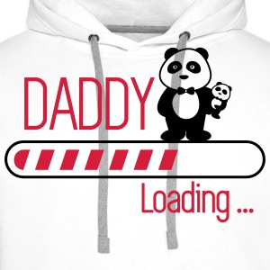 Daddy loading - Premium hettegenser for menn