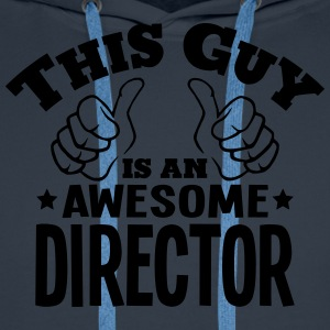 this guy is an awesome director - Men's Premium Hoodie