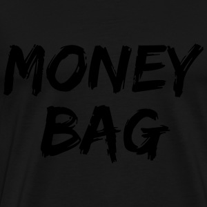 Money bag Bags & Backpacks - Men's Premium T-Shirt
