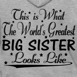 World's Greatest Big Sister... T-Shirts - Men's Premium Hooded Jacket