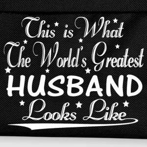 World's Greatest Husband... Hoodies & Sweatshirts - Kids' Backpack