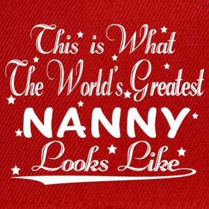 World's Greatest Nanny... T-Shirts - Snapback Cap