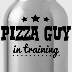 pizza guy in training - Water Bottle