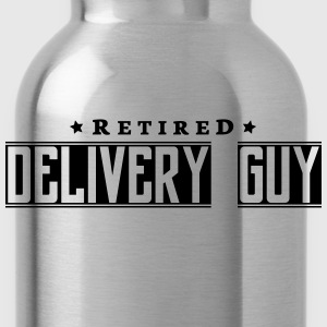 retired delivery guy - Water Bottle